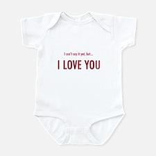 No Words Yet Infant Bodysuit