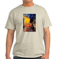 Cafe & Doberman T-Shirt