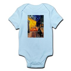 Cafe & Doberman Infant Bodysuit