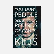 Willy Wonka Peddle Candy Killing Kids Magnets