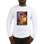 Mandolin Angel & Dobie Long Sleeve T-Shirt