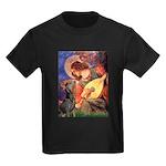 Mandolin Angel & Dobie Kids Dark T-Shirt