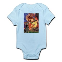 Mandolin Angel & Dobie Infant Bodysuit