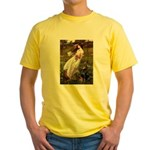 Windflowers / Doberman Yellow T-Shirt