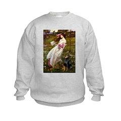 Windflowers / Doberman Sweatshirt