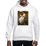 Windflowers / Doberman Hooded Sweatshirt