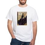 Mom's Doberman (#1) White T-Shirt