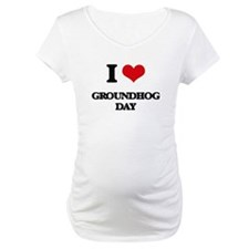 I Love Groundhog Day Shirt