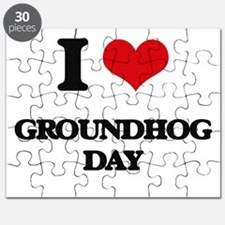 I Love Groundhog Day Puzzle