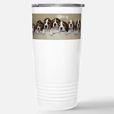 beagle puupies Travel Mug