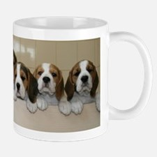 beagle puupies Mugs