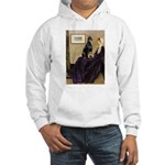 Mom's Doberman (#1) Hooded Sweatshirt