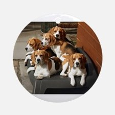 beagles Ornament (Round)