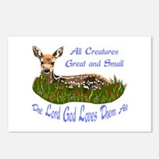 ALL CREATURES GREAT AND SMALL Postcards (Package o