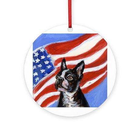 Boston patriot Ornament (Round)