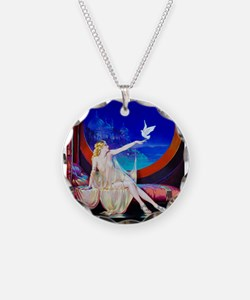 Sultana, Dove Pinup Necklace