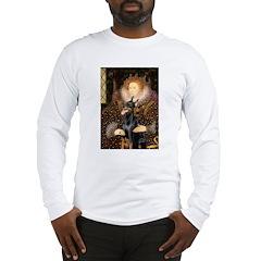 The Queen's Dobie Long Sleeve T-Shirt