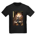 The Queen's Dobie Kids Dark T-Shirt