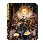 The Queen's Dobie Mousepad