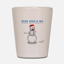 Oh, SNAP! Snowman Shot Glass