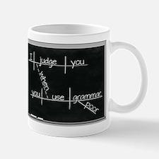 Grammar Diagram (Blk) Mugs