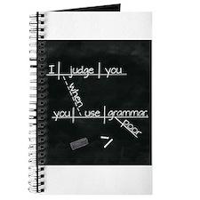 Grammar Diagram (Blk sq) Journal