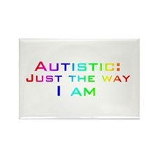 Just the Way I Am Rectangle Magnet (10 pack)