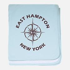 New York - East Hampton baby blanket