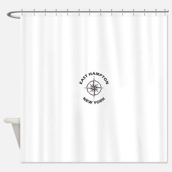New York - East Hampton Shower Curtain