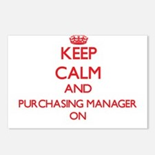 Keep Calm and Purchasing Postcards (Package of 8)