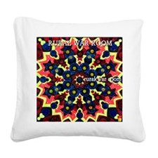 Rural War Room EP cover.jpg Square Canvas Pillow