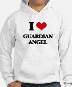 I Love Guardian Angel Hoodie