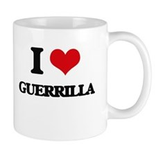 I Love Guerrilla Mugs