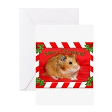 Funny Hamsters Greeting Card