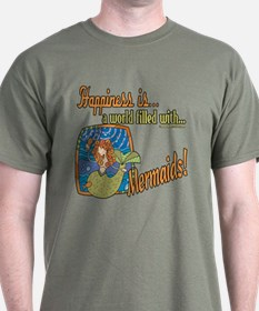 Happiness is a Mermaid T-Shirt