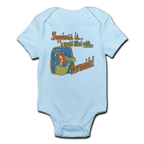 Happiness is a Mermaid Infant Bodysuit