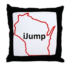 iJump Throw Pillow