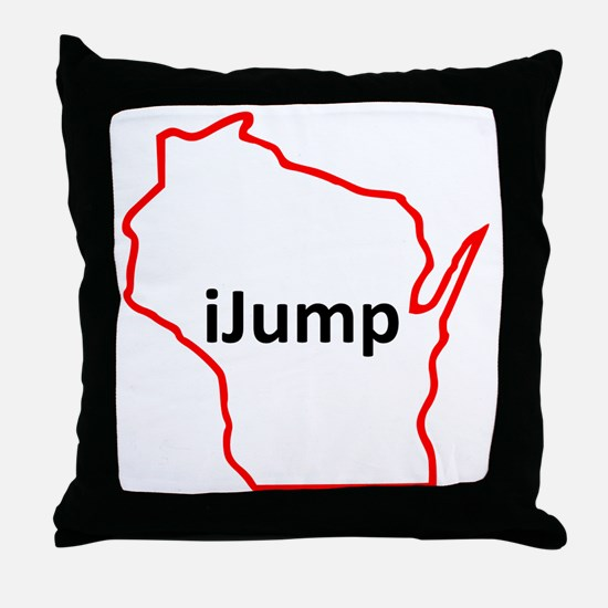 iJump Throw Pillow