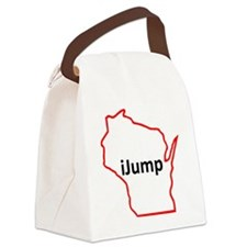 iJump Canvas Lunch Bag