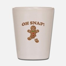 Oh, SNAP! Gingerbread Man Shot Glass