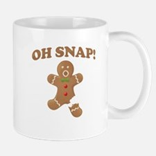 Oh, SNAP! Gingerbread Man Mugs