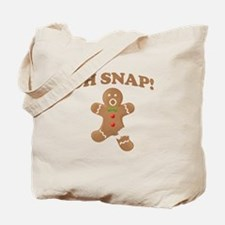 Oh, SNAP! Gingerbread Man Tote Bag