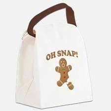 Oh, SNAP! Gingerbread Man Canvas Lunch Bag