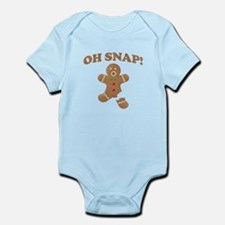 Oh, SNAP! Gingerbread Man Body Suit
