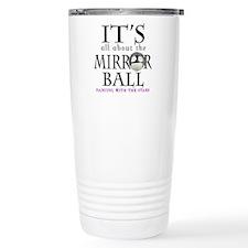 Mirrorball Dwts Travel Coffee Mug