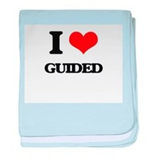 I Love Guided baby blanket