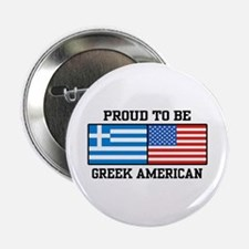 Greek American Button