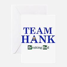 Team Hank Greeting Cards