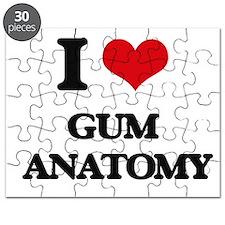 I Love Gum Anatomy Puzzle