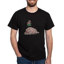 Goldendoodle Mistletoe T-Shirt